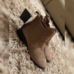 Forever 21 taupe booties - size 7
